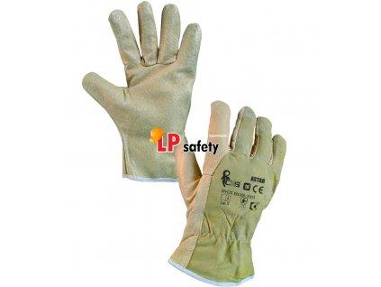 CXS ASTAR celokožené rukavice