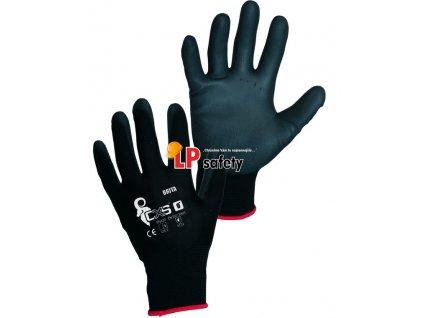 CXS BRITA BLACK polomáčané rukavice
