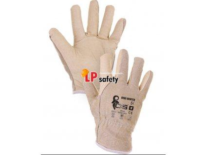 CXS URBI WINTER celokožené zimné rukavice