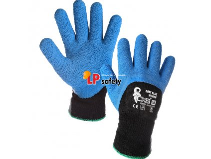CXS ROXY BLUE WINTER polomáčané zimné rukavice