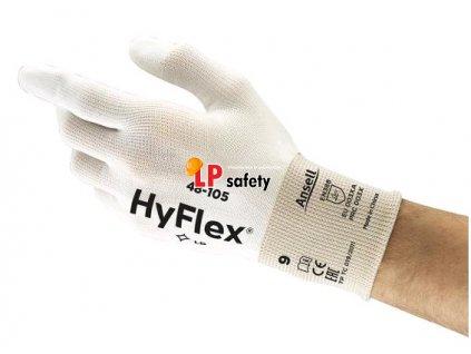 HYFLEX (EX.SENSILITE) 48-105 polomáčané rukavice