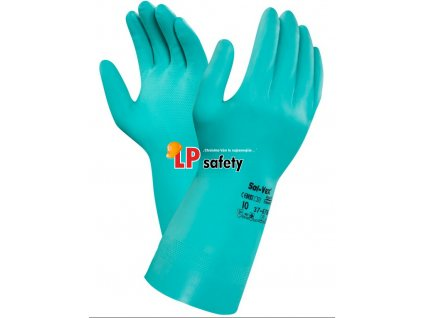 ALPHATEC SOL-VEX 37-676 kyselinovzdorné rukavice