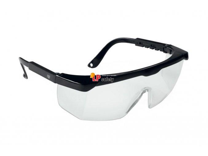 Ochranné FF AS-01-002 okuliare číre