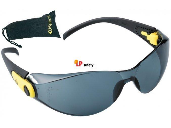 Ochranné okuliare IS Finney AF, AS, SG dymové