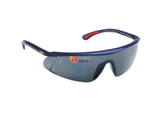 Ochranné okuliare Barden dymové