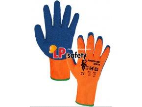 CXS INDUSTRY ROXY WINTER polomáčané zimné rukavice