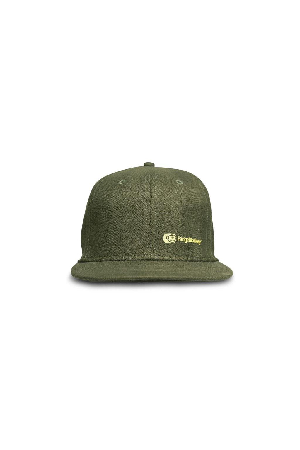 RidgeMonkey: Kšiltovka APEarel Dropback Snapback Cap Green