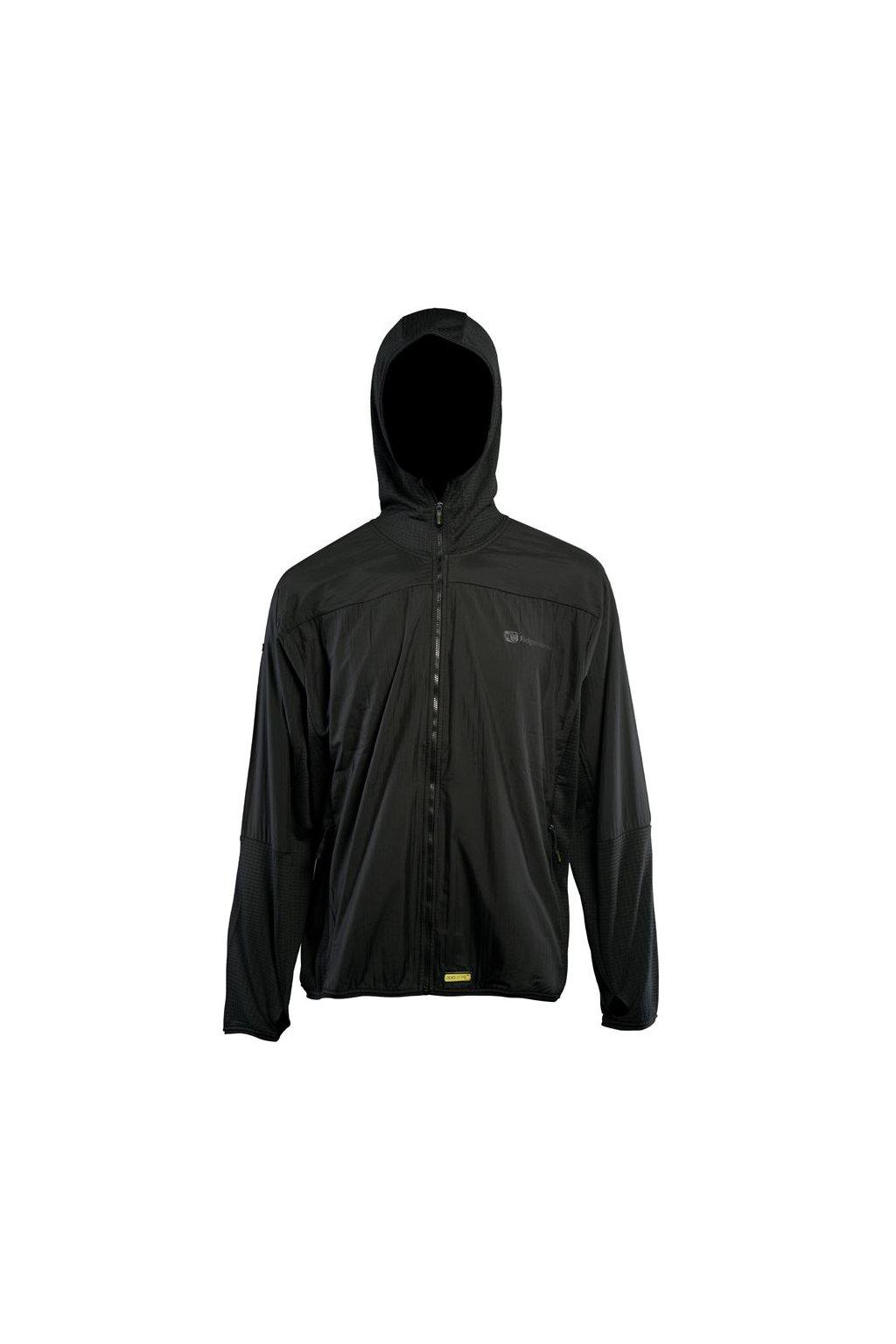 RidgeMonkey: Bunda APEarel Dropback Lightweight Zip Jacket Black Velikost L