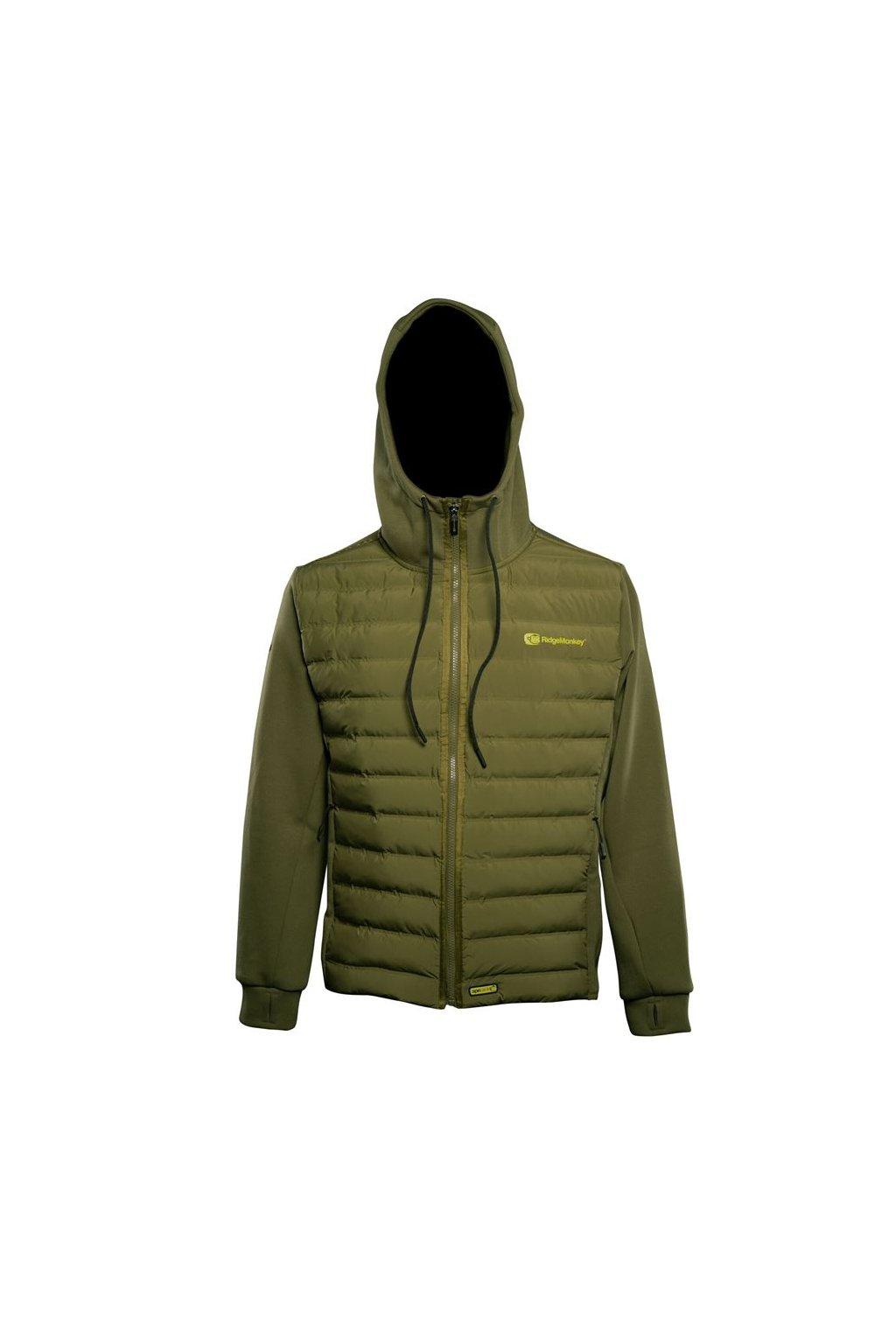 RidgeMonkey Bunda APEarel Dropback Heavyweight Zip Jacket Green