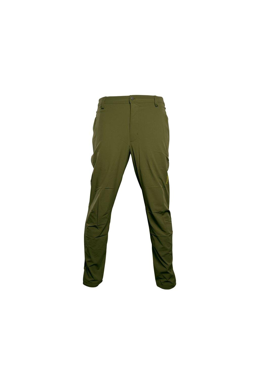 RidgeMonkey Kalhoty APEarel Dropback Lightweight Trousers Green