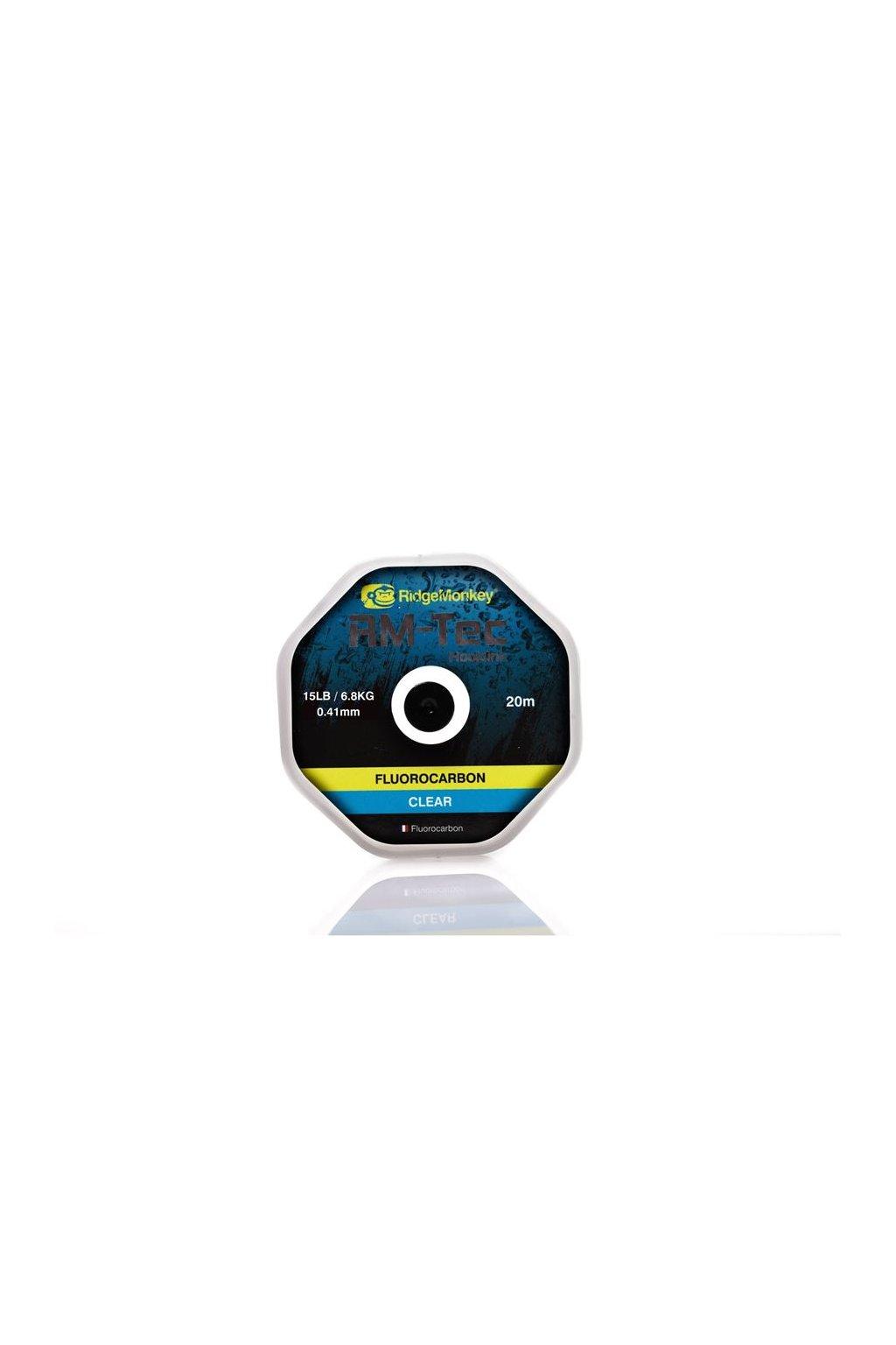 RidgeMonkey Vlasec RM-Tec Fluorocarbon 20m Čirý
