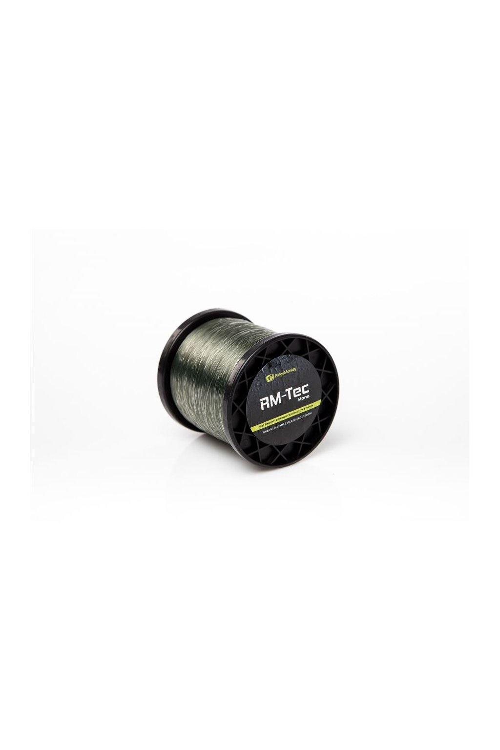 RidgeMonkey Vlasec RM-Tec Mono 1200m Zelený
