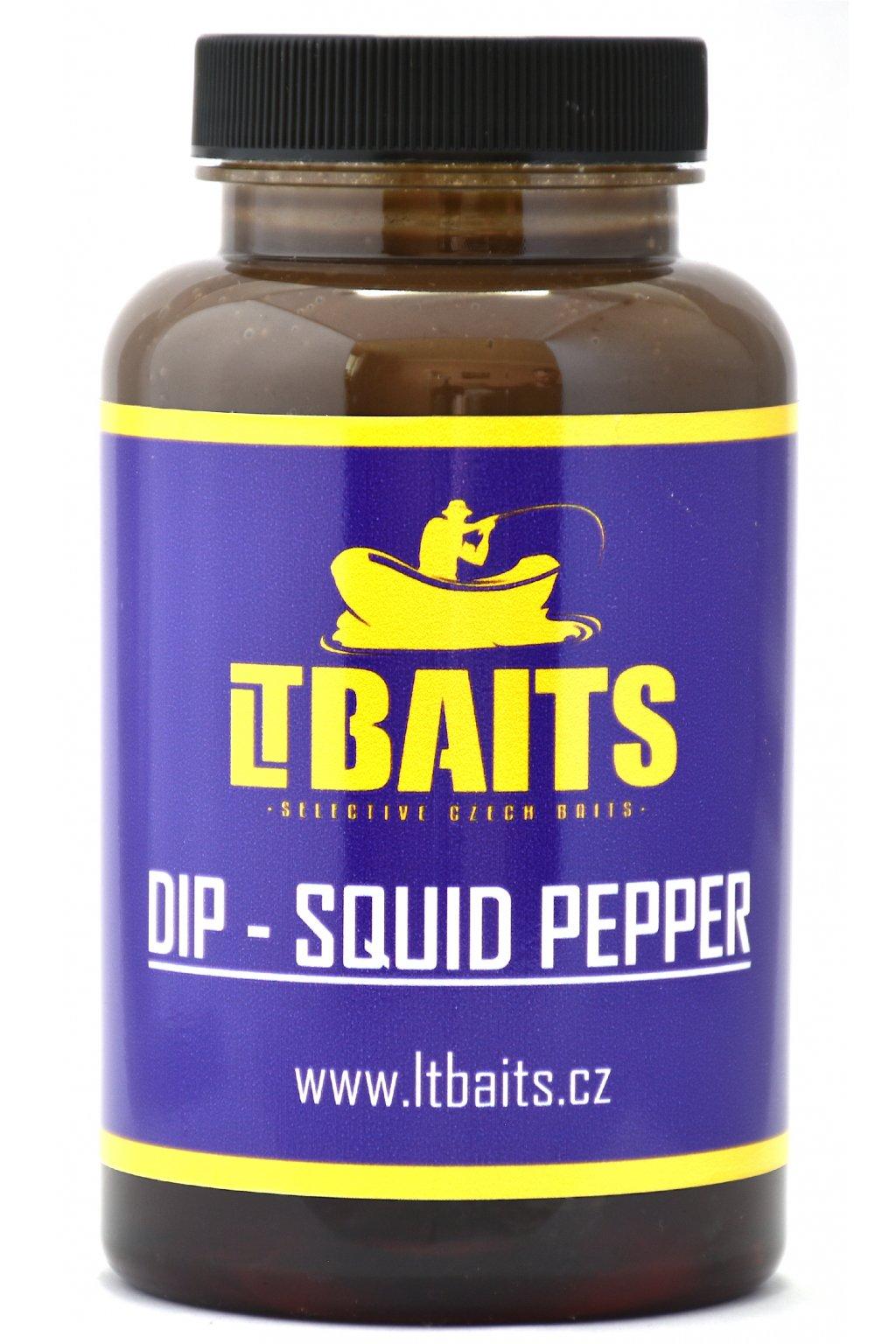 LT Baits DIP Squid Pepper - 300g