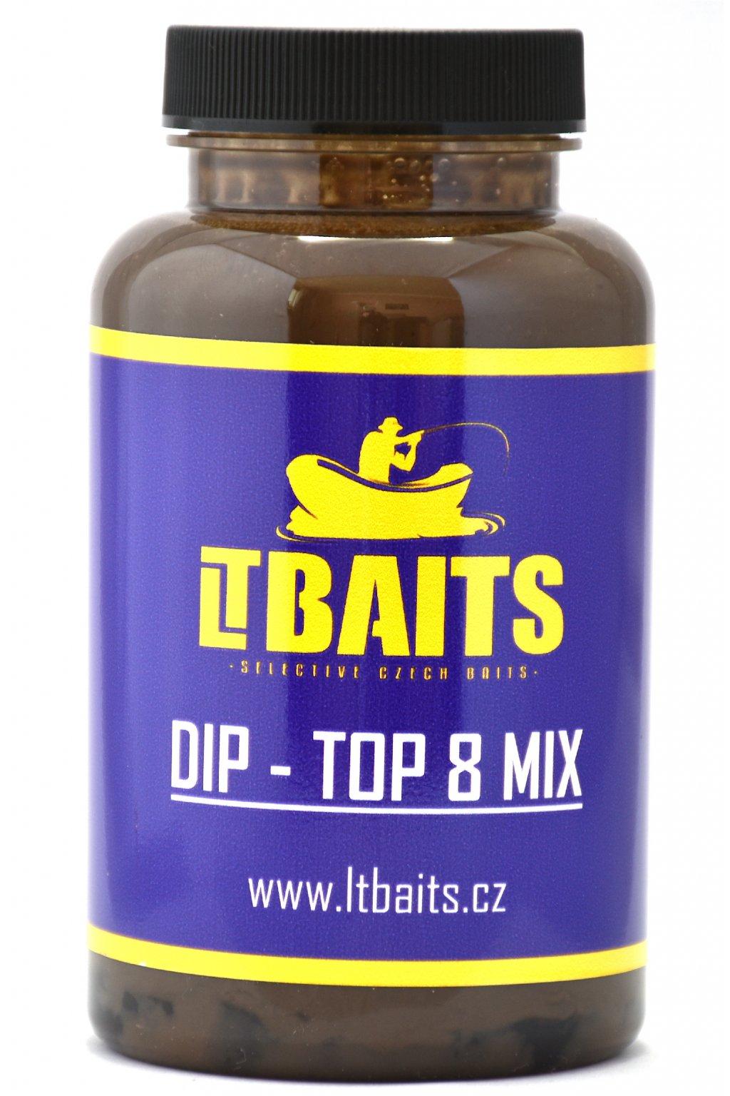 LT Baits DIP TOP 8 Mix - 300g