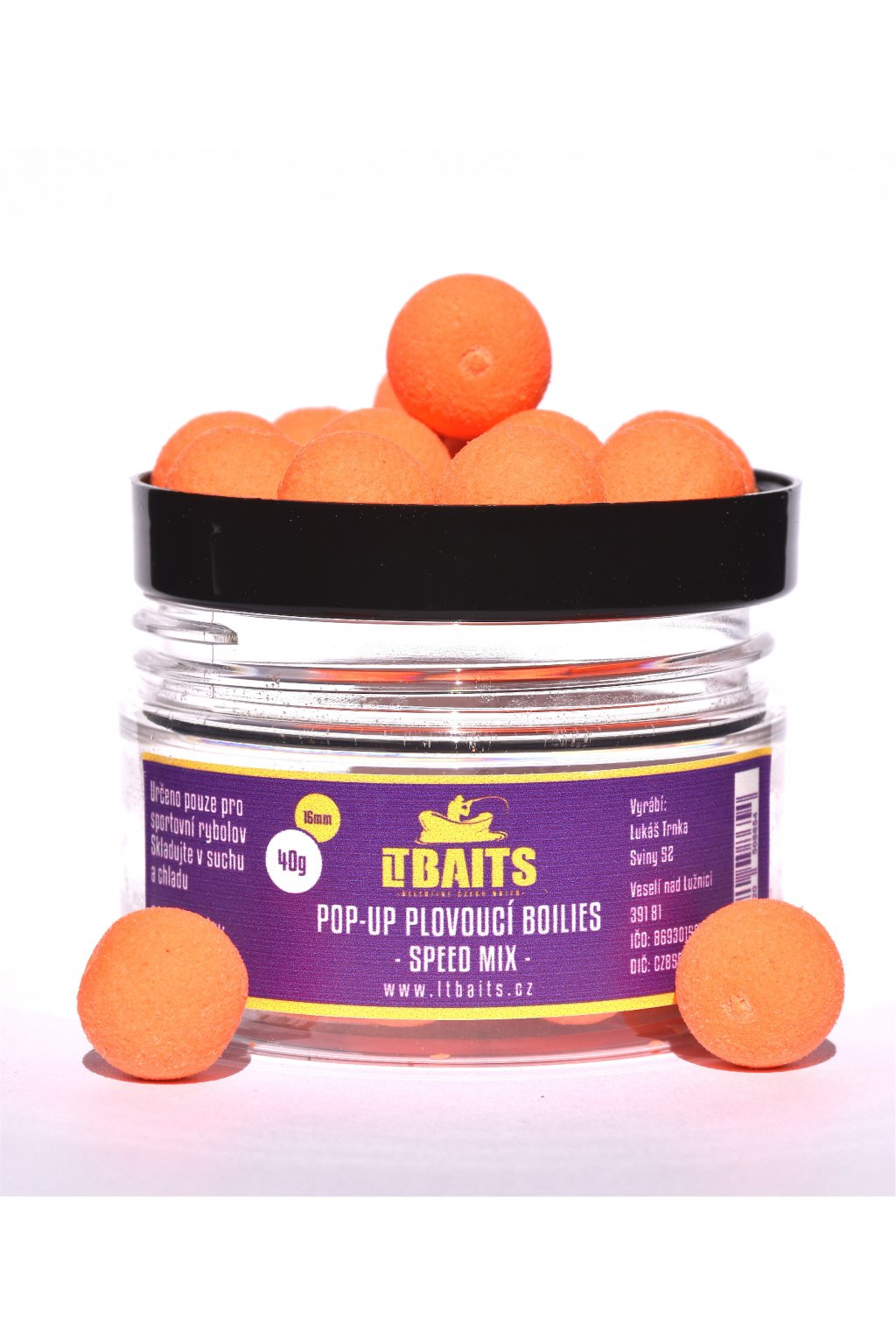 LT Bait Pop Up Boilies Speed Mix 40g