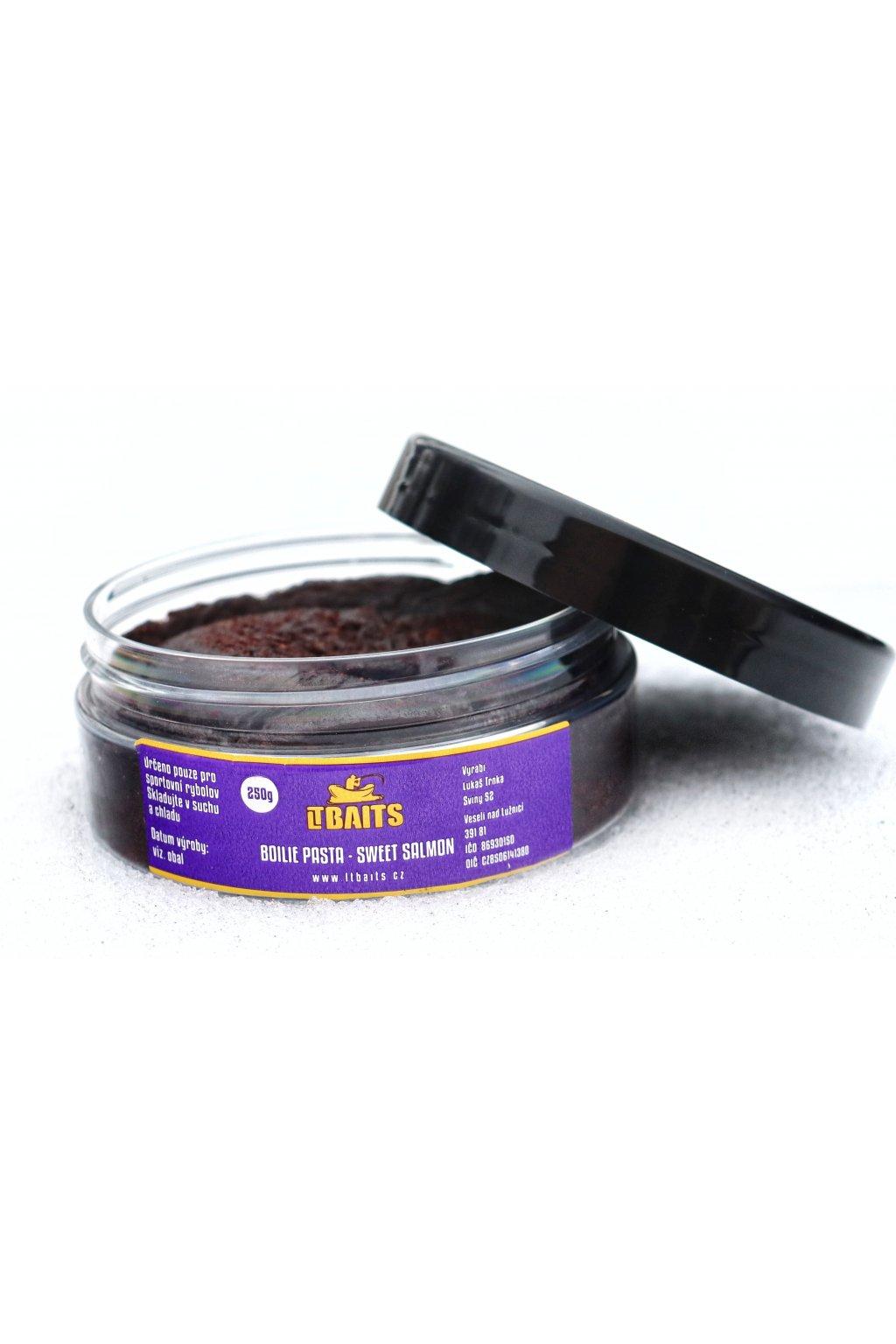 LT Baits Boilie Pasta Sweet Salmon 250g