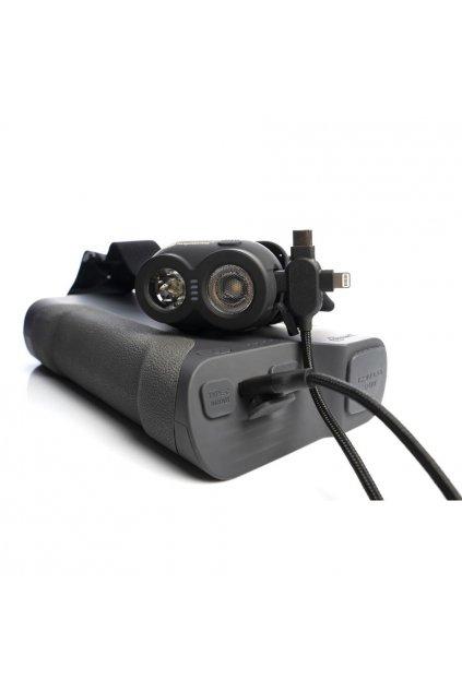 RidgeMonkey: Napájecí kabel Vault USB-A to Multi Out Cable 2m