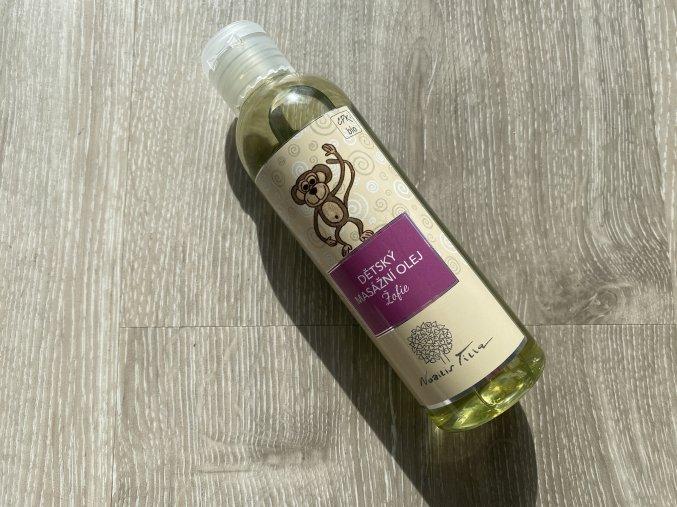 Dětský masážní olej Žofie