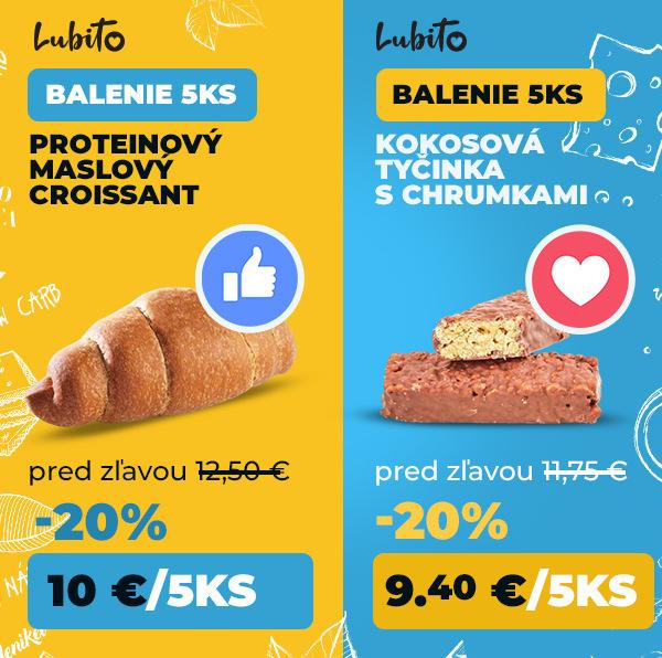 Hlasuj za zľavu - croissant alebo tyčinky