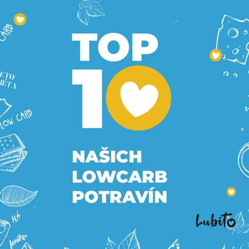 Top 10 obľúbených low carb potravín