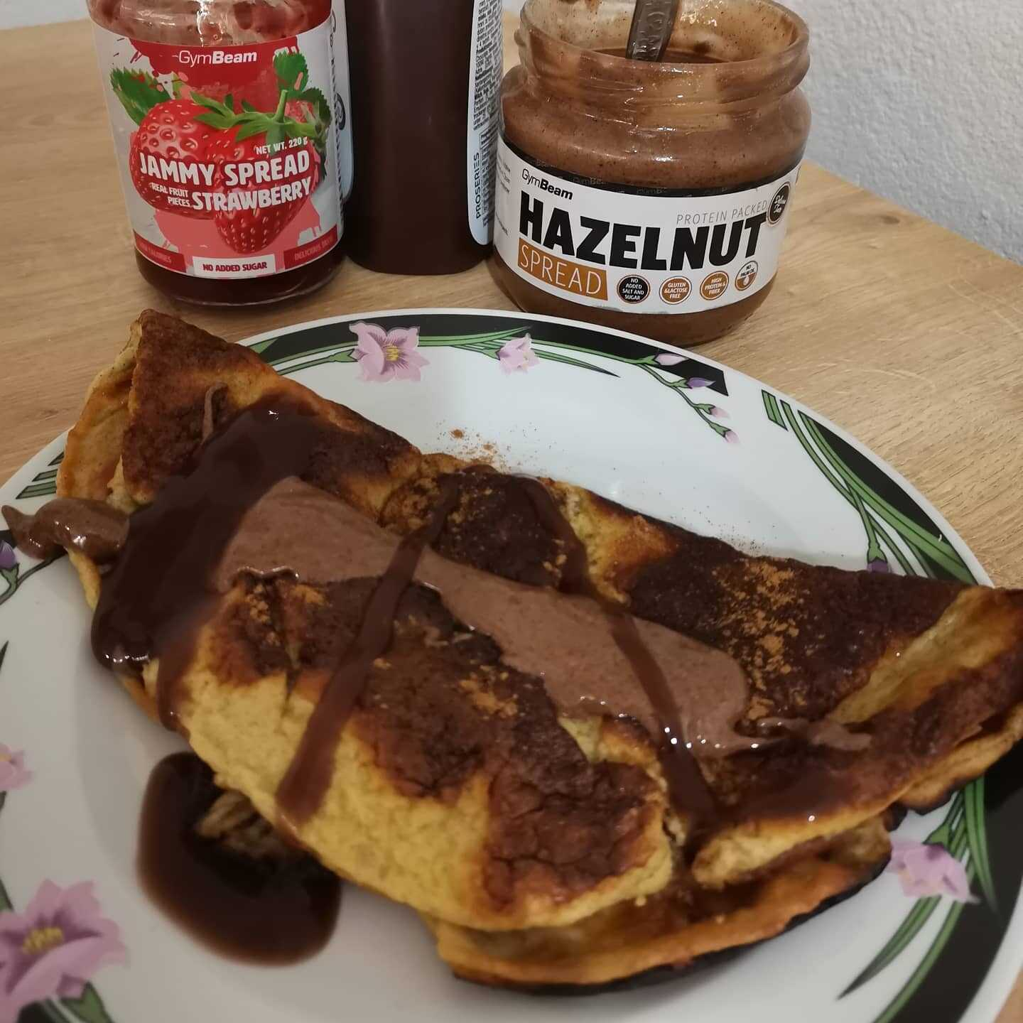 Low carb palacinka
