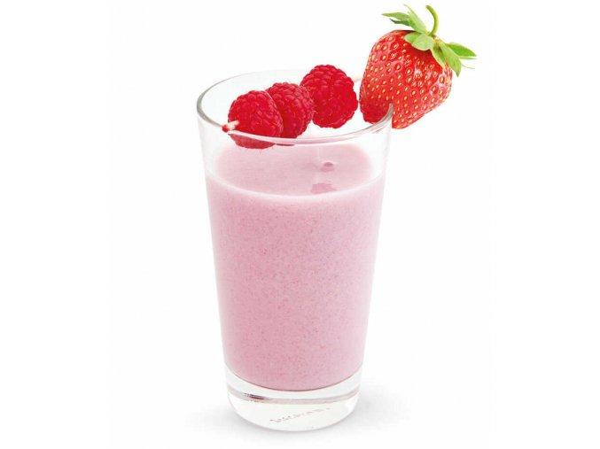 Jahodovo-malinové smoothie