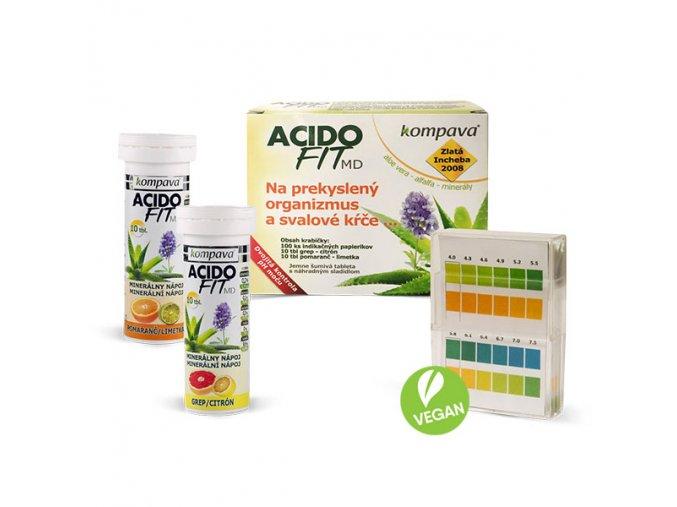 AcidoFit MD - MIX 20tbl. + 100ks papierikov