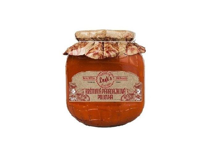 Krémova paradajková polievka