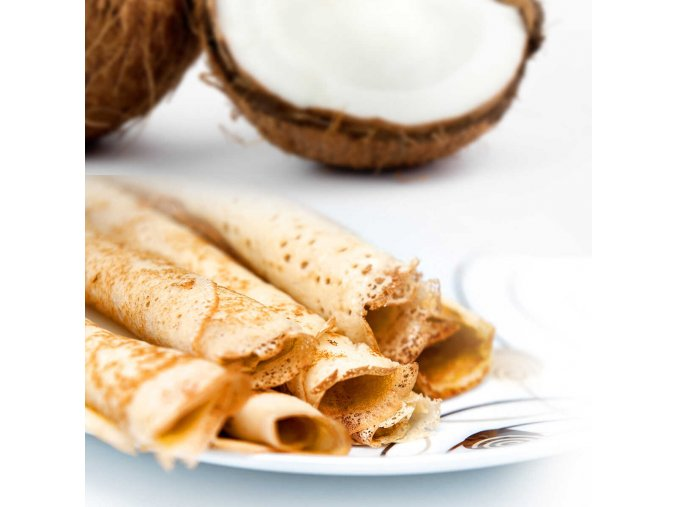 Kokosová palacinka