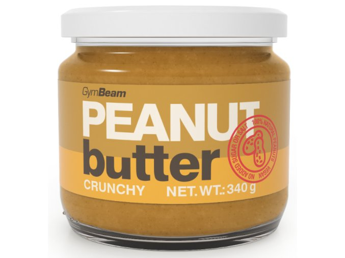 Arašidové maslo 100% 340g crunchy