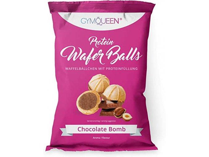 Proteínové guličky Wafer Balls čokoláda