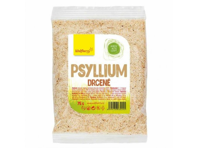 Drvené psyllium 75g