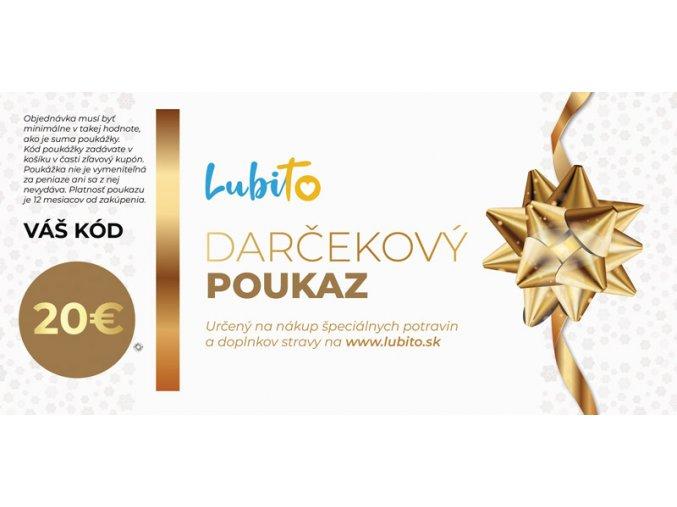 darcekovy 20 eurovy poukaz