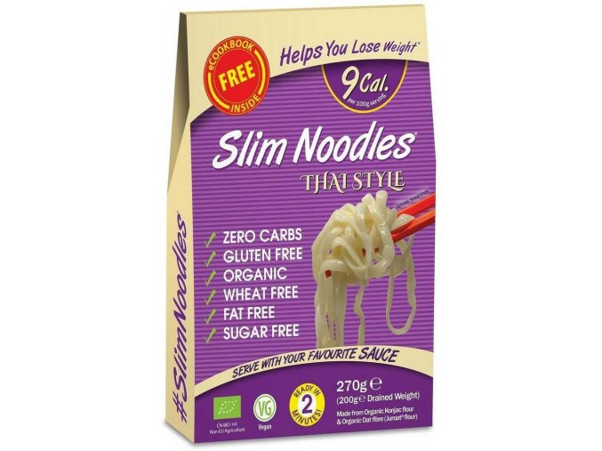Thajské keto rezance Slim Pasta3d32d82a4