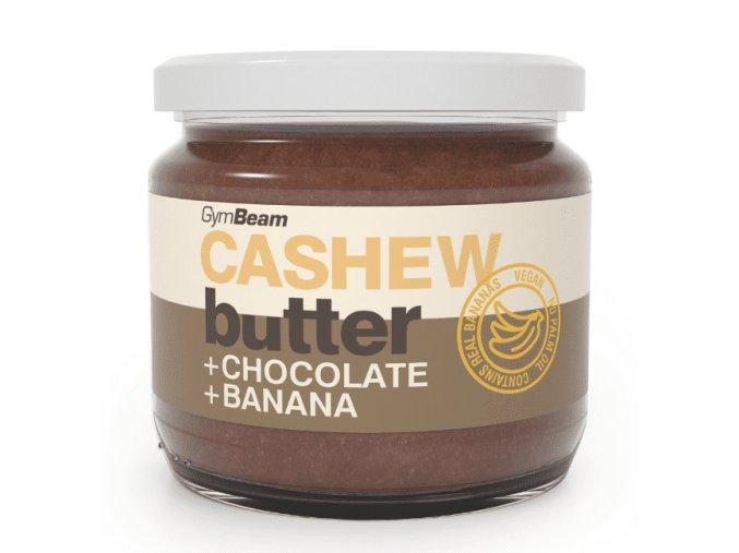 Kešu maslo s čokoládou a banánom GymBeam