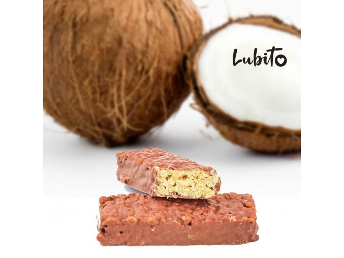 Kokosová tyčinka s chrumkami
