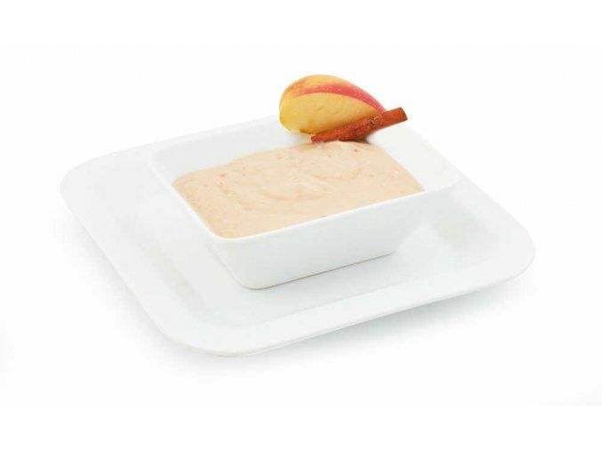 Ovsená kaša s príchuťou jablka a škorice