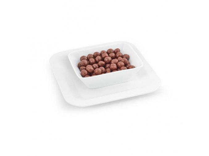 Chrumkavé guličky s čokoládovou príchuťou