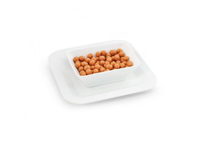 Chrumkavé guličky s arašídovou príchuťou