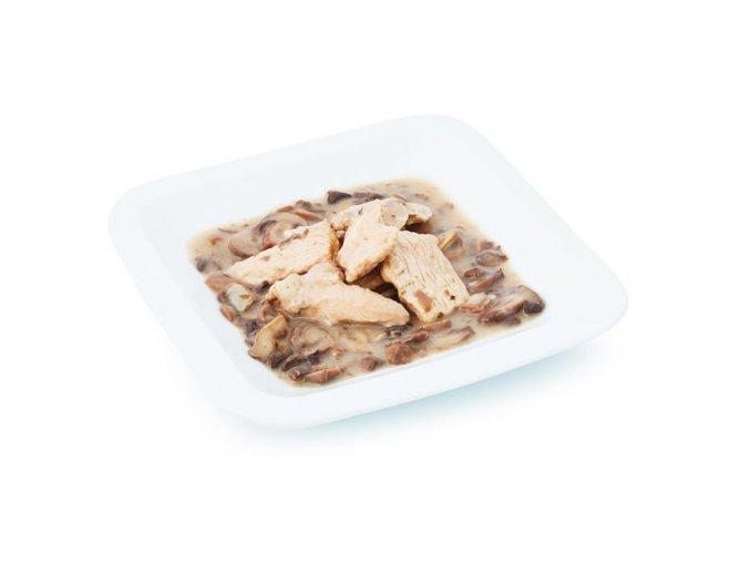 Kuracie mäso na šampiónoch