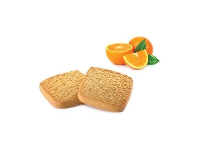 Proteinové sušienky s pomarančom