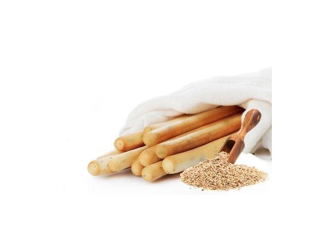 Slané tyčinky grissiny - sezam