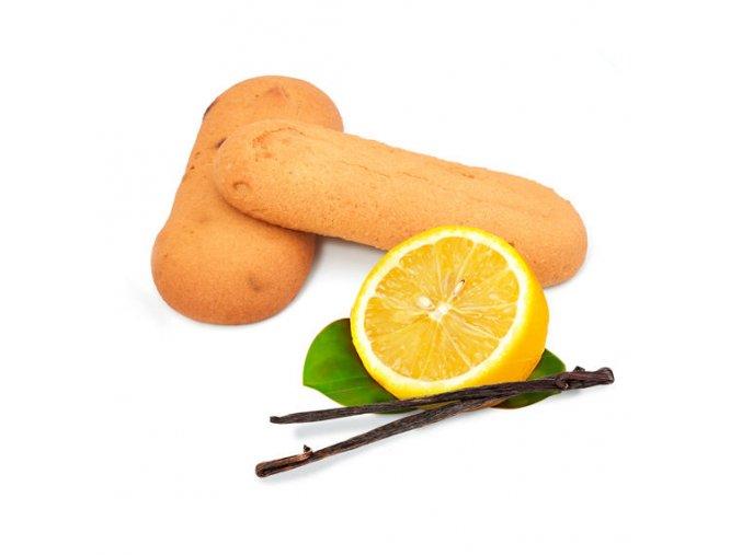 Proteinové piškóty s príchuťou vanilky a citrónu