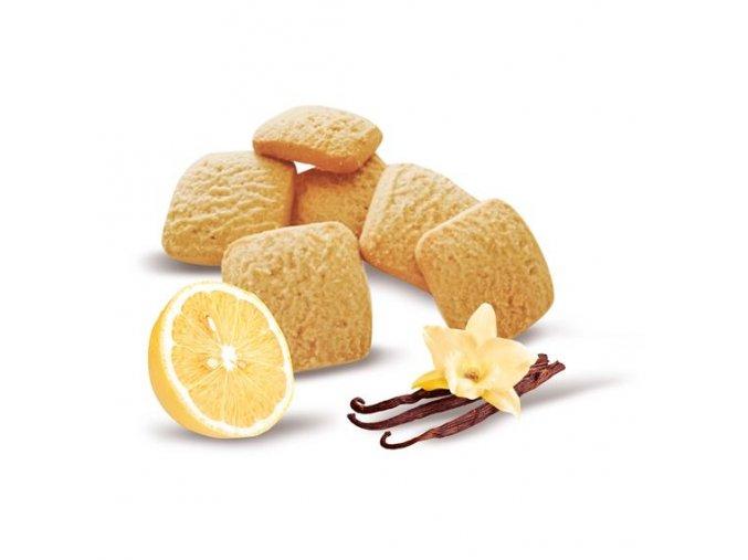 Štvorčeky s príchuťou vanilky a citrónu