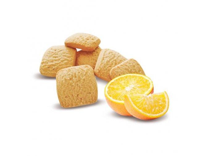 Štvorčeky s pomarančom