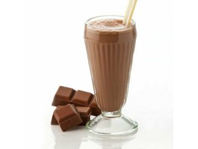 Smoothie s príchuťou čokolády