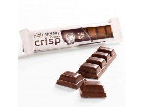 Horká čokoláda s chrumkami