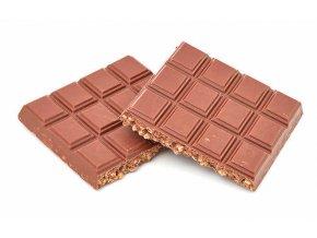 Mliečna čokoláda s chrumkami