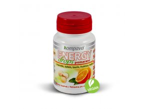 Energy drops pomaranč