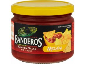 MEDIUM salsa Banderos